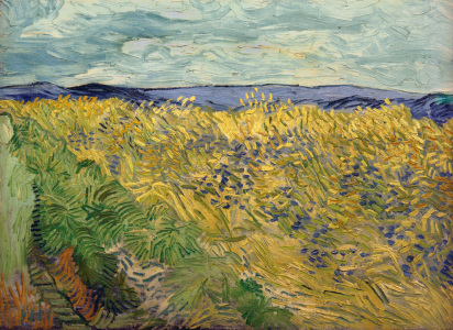 Picture no: 30003320 V.v.Gogh, Field w.Cornflowers /Ptg./1890 Created by: van Gogh, Vincent