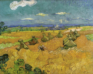 Picture no: 30003322 V.v.Gogh, Wheat Field w.Reaper/Ptg./1890 Created by: van Gogh, Vincent