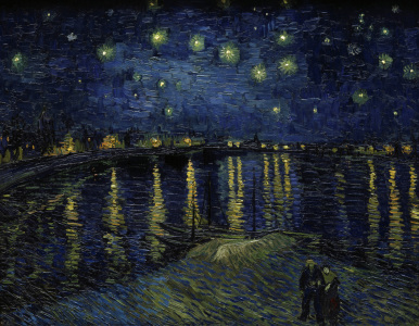 Picture no: 30003330 van Gogh / Starry night over the Rhône Created by: van Gogh, Vincent
