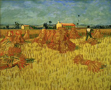 Picture no: 30003346 V.v.Gogh, Harvest in Provence /Ptg./1888 Created by: van Gogh, Vincent