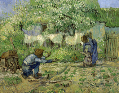 Picture no: 30003380 van Gogh / First Steps / 1890 Created by: van Gogh, Vincent