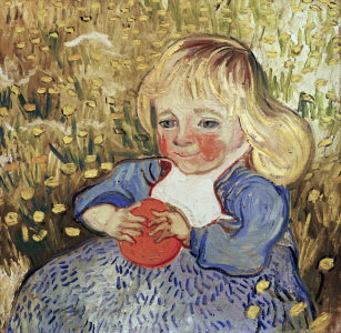 Picture no: 30003396 van Gogh / Child with orange / 1890 Created by: van Gogh, Vincent