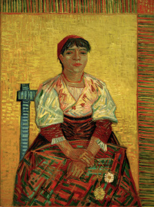 Picture no: 30003406 V.van Gogh, Italian Woman /Paint./ 1887 Created by: van Gogh, Vincent