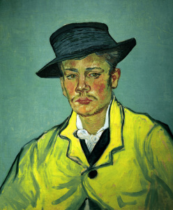 Picture no: 30003408 van Gogh, Portr.of Armand Roulin / 1888 Created by: van Gogh, Vincent