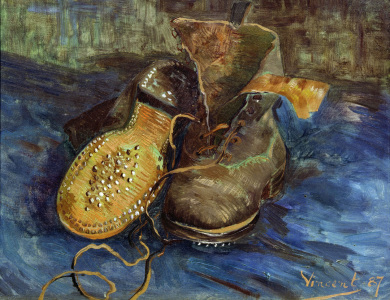 Picture no: 30003414 V.van Gogh / A Pair of Shoes / 1887 Created by: van Gogh, Vincent