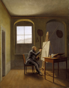 Picture no: 30003416 Caspar David Friedrich / Kersting Created by: Kersting, Georg Friedrich