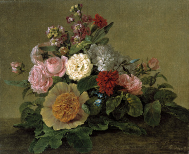 Picture no: 30003418 G.F.Kersting / Still Life with Flowers Created by: Kersting, Georg Friedrich
