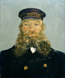 Picture no: 30003420 V.van Gogh, Portr.Joseph Roulin / 1888 Created by: van Gogh, Vincent