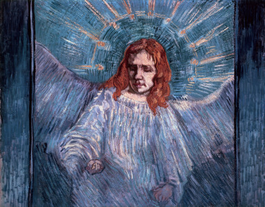 Picture no: 30003434 Van Gogh / The Angel / 1889 Created by: van Gogh, Vincent