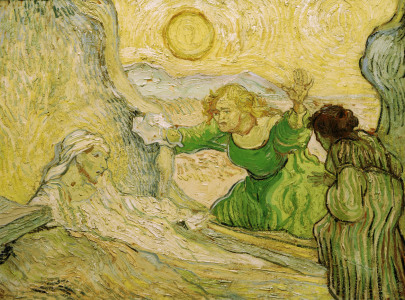 Picture no: 30003436 Van Gogh / Raising of Lazarus Created by: van Gogh, Vincent