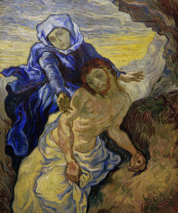 Picture no: 30003438 Van Gogh after E.Delacroix, Pietà Created by: van Gogh, Vincent