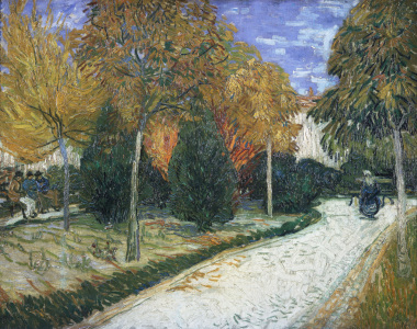 Picture no: 30003452 van Gogh / Autumnal Garden / 1888 Created by: van Gogh, Vincent