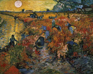 Picture no: 30003454 van Gogh / The red Vineyard / 1888 Created by: van Gogh, Vincent