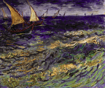 Picture no: 30003458 van Gogh / Seascape / 1888 Created by: van Gogh, Vincent
