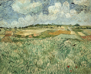 Picture no: 30003470 Van Gogh / The Plain of Auvers / 1890 Created by: van Gogh, Vincent