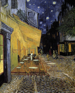 Picture no: 30003478 Van Gogh / Terrace Cafe Arles / 1888 Created by: van Gogh, Vincent