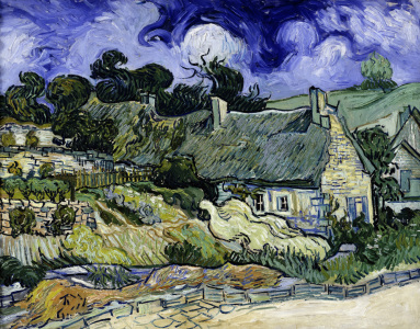 Picture no: 30003482 Van Gogh / Houses in Cordeville / 1890 Created by: van Gogh, Vincent