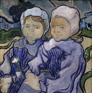 Picture no: 30003486 Van Gogh / Two children / 1890 Created by: van Gogh, Vincent