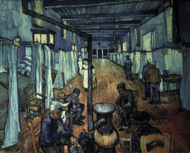 Picture no: 30003488 Van Gogh/Dormitory at the Hospital/1889 Created by: van Gogh, Vincent