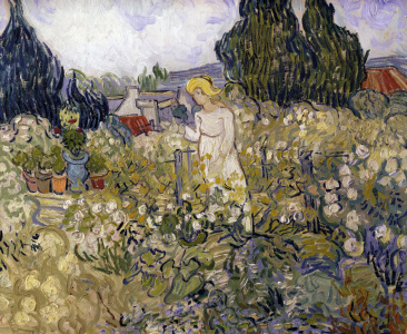 Picture no: 30003496 van Gogh / M. Gachet in her Garden Created by: van Gogh, Vincent