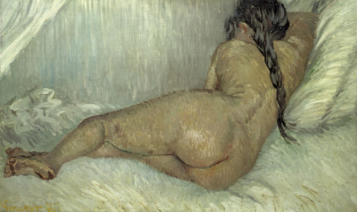 Picture no: 30003498 Van Gogh / Reclining Nude / 1887 Created by: van Gogh, Vincent