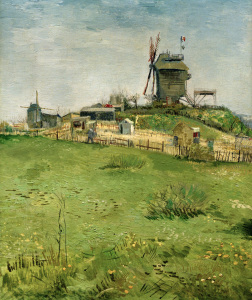 Picture no: 30003502 Van Gogh, Le Moulin de la Galette /Ptg. Created by: van Gogh, Vincent