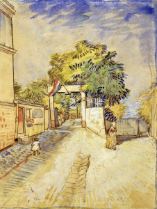 Picture no: 30003508 V.v.Gogh, Entrance Moulin de la Galette Created by: van Gogh, Vincent