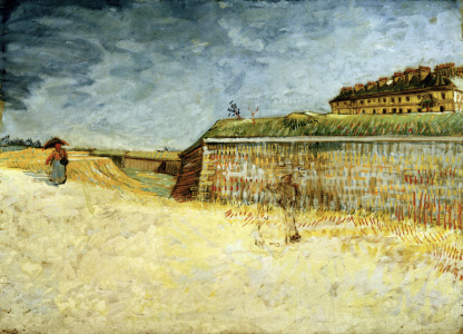 Picture no: 30003514 V.van Gogh / Fortification of Paris Created by: van Gogh, Vincent