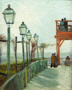 Picture no: 30003516 V.van Gogh, Terrace...Moulin Blute-fin Created by: van Gogh, Vincent