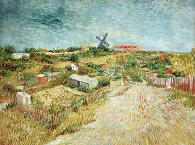 Picture no: 30003518 V.v.Gogh,Veget.Gard.at Butte Montmartre Created by: van Gogh, Vincent