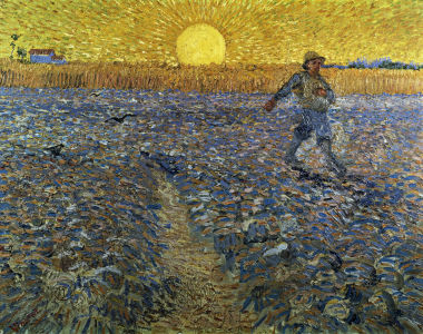 Picture no: 30003520 Van Gogh, Sower at sunset,  1888. Created by: van Gogh, Vincent