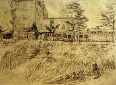 Picture no: 30003534 Van Gogh, Restaurant De la Sirène/Draw. Created by: van Gogh, Vincent