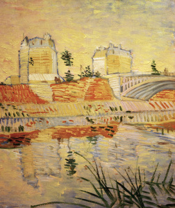 Picture no: 30003538 V.v.Gogh, Pont de Clichy /Paint./ 1887 Created by: van Gogh, Vincent