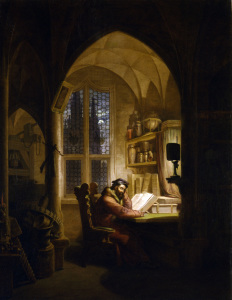 Picture no: 30003550 Goethe / Faust / Paint.by Kersting /1829 Created by: Kersting, Georg Friedrich