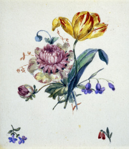 Picture no: 30003574 Kersting / Bouquet of Flowers / c. 1825 Created by: Kersting, Georg Friedrich