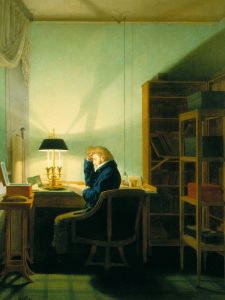 Picture no: 30003590 Kersting / Reading by Lamplight / 1814 Created by: Kersting, Georg Friedrich
