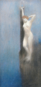 Picture no: 30003594 Sappho / Pastell von F.Khnopff Created by: Khnopff, Fernand