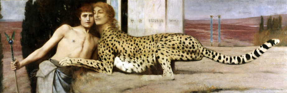 Picture no: 30003600 F.Khnopff / The Sphinx Created by: Khnopff, Fernand