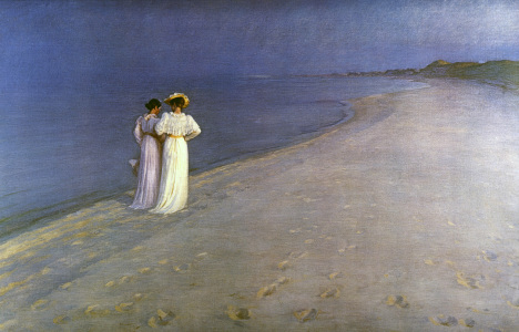 Picture no: 30003704 P.S.Kröyer / Summer Evening... / 1893 Created by: Kroyer, Peter Severin