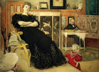 Picture no: 30003756 Anna Pettersson-Norrie / Carl Larsson Created by: Larsson, Carl