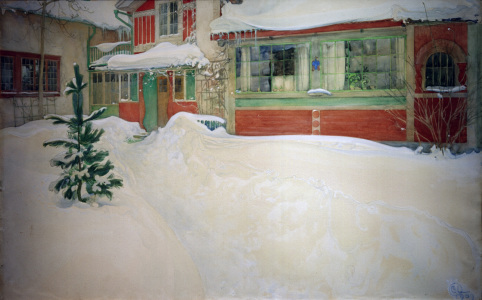 Picture no: 30003768 C.Larsson, Snow / 1909 Created by: Larsson, Carl