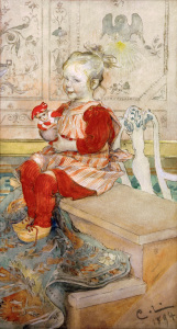 Picture no: 30003806 Carl Larsson / Lisbeth Created by: Larsson, Carl