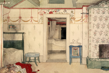 Picture no: 30003844 Carl Larsson, Britas Schläfchen/ 1894 Created by: Larsson, Carl