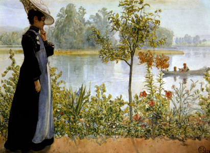 Picture no: 30003920 Carl Larsson, Spätsommer Created by: Larsson, Carl
