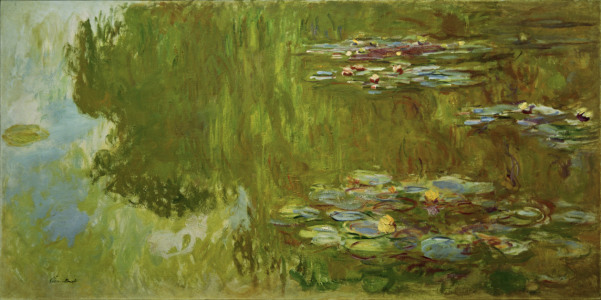 Picture no: 30003930 Claude Monet, Der Seerosenteich Created by: Monet, Claude