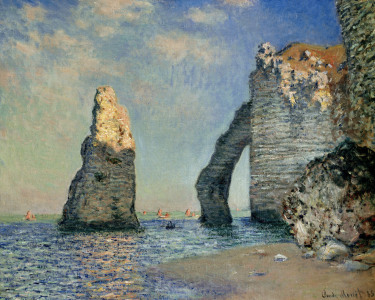 Picture no: 30003932 Monet / The rock face of Aval / 1885 Created by: Monet, Claude