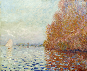 Picture no: 30003938 Monet / River landscape, autumn / 1900? Created by: Monet, Claude