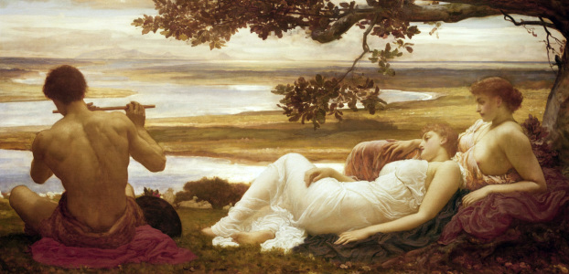 Picture no: 30003962 Leighton / Idyll / c.1880/81 Created by: Leighton, Frederic