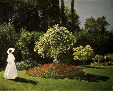 Picture no: 30003994 Monet / Woman in a Garden / 1867 Created by: Monet, Claude