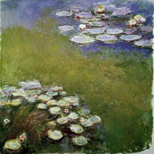 Picture no: 30004002 Claude Monet / Water Lilies Created by: Monet, Claude
